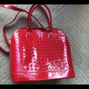 Arcadia Large Red Bag
